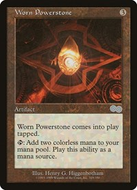 Worn Powerstone, Magic: The Gathering, Urza's Saga