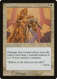 Worship, Magic, Urza's Saga