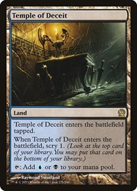 Temple of Deceit, Magic: The Gathering, Theros