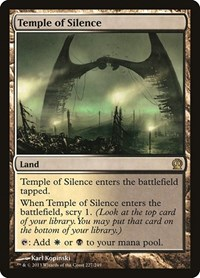 Temple of Silence, Magic: The Gathering, Theros