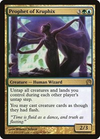 Prophet of Kruphix, Magic: The Gathering, Theros