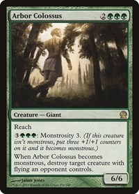 Arbor Colossus, Magic: The Gathering, Theros