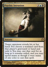Psychic Intrusion, Magic: The Gathering, Theros