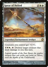 Spear of Heliod, Magic, Theros