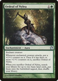 Ordeal of Nylea, Magic: The Gathering, Theros