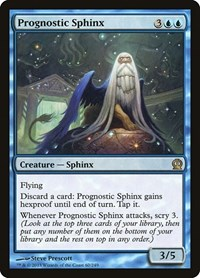 Prognostic Sphinx, Magic: The Gathering, Theros