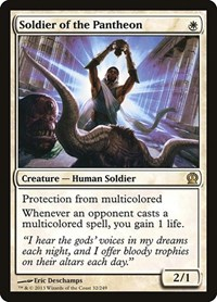 Soldier of the Pantheon, Magic, Theros