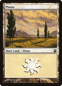 Plains (233), Magic: The Gathering, Theros