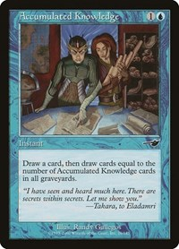 Accumulated Knowledge, Magic: The Gathering, Nemesis