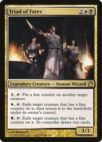 Triad of Fates, Magic: The Gathering, Theros