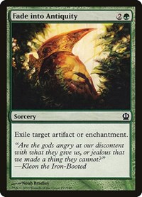 Fade into Antiquity, Magic: The Gathering, Theros