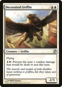Decorated Griffin, Magic: The Gathering, Theros