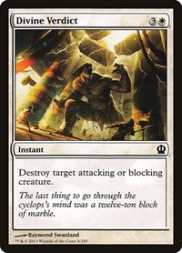 Divine Verdict, Magic: The Gathering, Theros