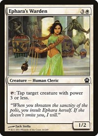 Ephara's Warden, Magic: The Gathering, Theros