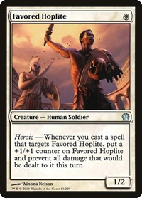 Favored Hoplite, Magic: The Gathering, Theros