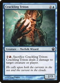 Crackling Triton, Magic: The Gathering, Theros
