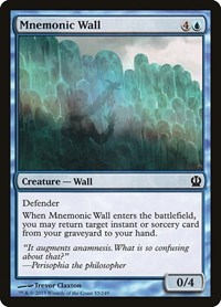 Mnemonic Wall, Magic, Theros