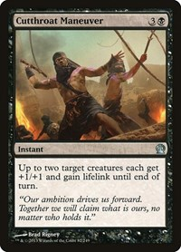Cutthroat Maneuver, Magic: The Gathering, Theros