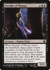 Disciple of Phenax, Magic: The Gathering, Theros