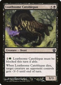 Loathsome Catoblepas, Magic: The Gathering, Theros
