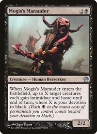 Mogis's Marauder, Magic: The Gathering, Theros