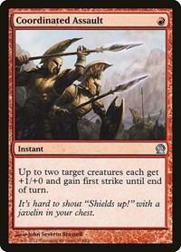 Coordinated Assault, Magic: The Gathering, Theros