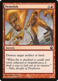 Demolish, Magic: The Gathering, Theros