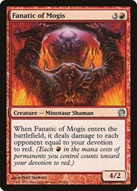 Fanatic of Mogis, Magic: The Gathering, Theros