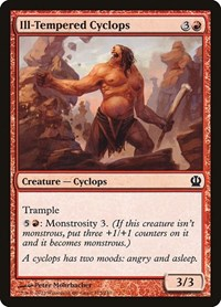 Ill-Tempered Cyclops, Magic: The Gathering, Theros