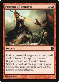 Portent of Betrayal, Magic: The Gathering, Theros