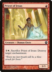 Priest of Iroas, Magic: The Gathering, Theros