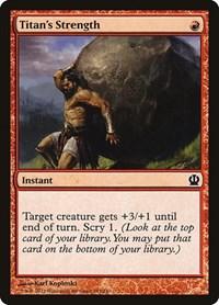 Titan's Strength, Magic: The Gathering, Theros