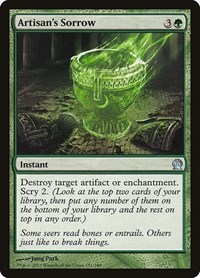 Artisan's Sorrow, Magic: The Gathering, Theros