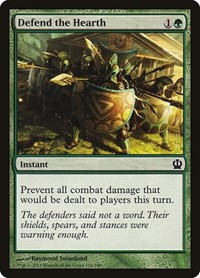 Defend the Hearth, Magic: The Gathering, Theros