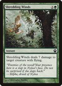 Shredding Winds, Magic: The Gathering, Theros