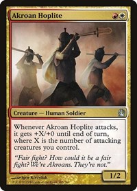 Akroan Hoplite, Magic, Theros