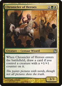 Chronicler of Heroes, Magic: The Gathering, Theros