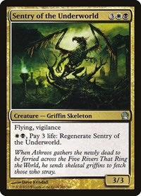 Sentry of the Underworld, Magic: The Gathering, Theros