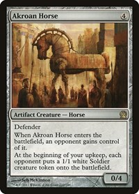 Akroan Horse, Magic: The Gathering, Theros