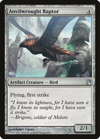 Anvilwrought Raptor, Magic: The Gathering, Theros