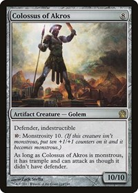 Colossus of Akros, Magic: The Gathering, Theros