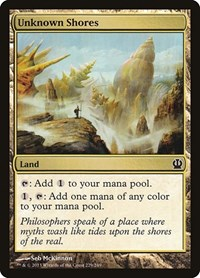 Unknown Shores, Magic: The Gathering, Theros