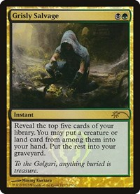 Grisly Salvage, Magic: The Gathering, FNM Promos