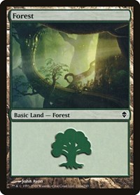 Forest (246a) (Foil)