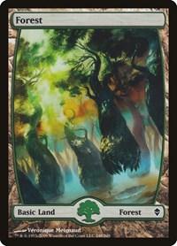 Forest (248) - Full Art, Magic: The Gathering, Zendikar