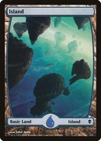Island (234) - Full Art, Magic, Zendikar