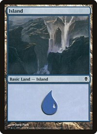 Island (235a), Magic, Zendikar