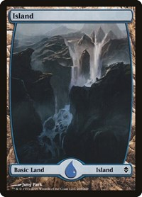 Island (235) - Full Art, Magic: The Gathering, Zendikar