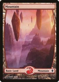 Mountain (242) - Full Art, Magic: The Gathering, Zendikar