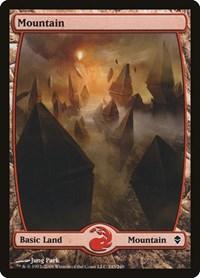 Mountain (243) - Full Art, Magic: The Gathering, Zendikar